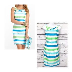 LILLY PULITZER Henley dress white striped dress